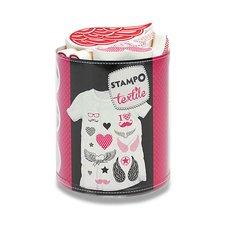 Razítka Aladine Stampo Textile - Láska je láska