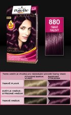 Schwarzkopf Palette Deluxe 880 tmavě fialová