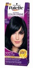 Palette Intensive Color Creme odstín C1 Modročerný barva na vlasy