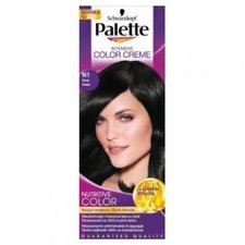 Palette Intensive Color Creme odstín N1 Černý barva na vlasy