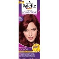 PALETTE Color barva na vlasy RF3 intenzivní tmavě červený