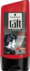 Taft Look V12 Power Speed Turbo fixační gel na vlasy 150 ml