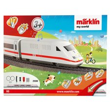 "Märklin My World IRC vlak ""ICE"" a koleje"