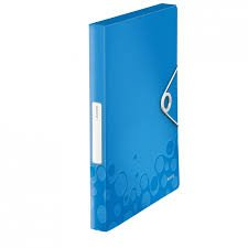 Box na dokumenty Wow - A4, modrý
