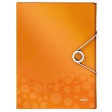 Box na dokumenty Wow - A4, oranžový