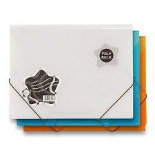 3chlopňové desky Poly Rock - A4, modré