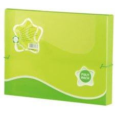 Box na dokumenty Poly Rock - A4, zelený
