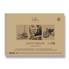 Shkolyaryk Náčrtník - A4, 50 listů, mix motivů