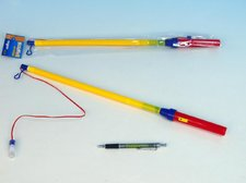 Hůlka k lampionu 50-75cm na baterie