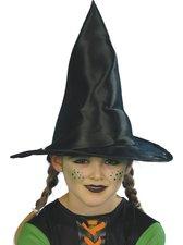 Čarodějnický klobouk černý