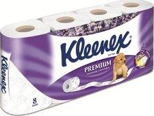 Kleenex Levandule toaletní papír 3-vrstvý 8 ks