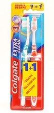 COLGATE zubní kartáček 1+1 Extra Clean