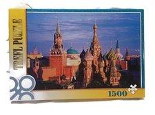 Puzzle 85x58 cm Rudé náměstí v Moskvě 1500 dílků