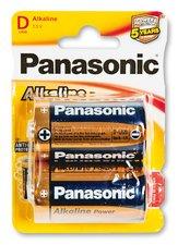 Baterie Panasonic Alkaline Power - D, 2 ks