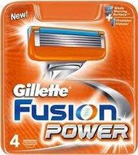 GILLETTE FUSION POWER Náhradní břity 4ks