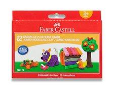 Modelovací hmota Faber-Castell - 12 barev