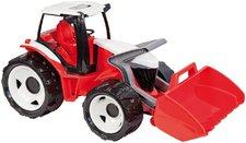 Traktor se lžící červeno bílý