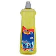 Calgonit Finish Shine a Dry Lemon leštidlo do myčky na nádobí 800 ml