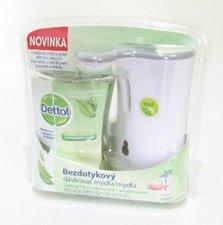 Detto Zelený čaj se zázvorem l bezdotykový dávkovač mýdla strojek + náplň 250 ml