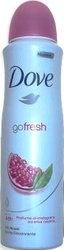 Dove Go Fresh 150 ml dámský spray antiperspirant deodorant