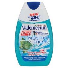 VADEMECUM zubní pasta 75ml 2v1 Menthol Fresh