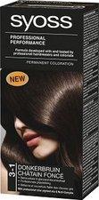 Syoss Color Baseline 3 - 1 Tmavě hnědý barva na vlasy
