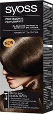 Syoss Color Basic 4 - 1 Středně hnědý barva na vlasy