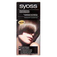 SYOSS barva na vlasy 5-1 Světle hnědý