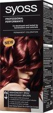 Syoss Color Basic 4 - 2 Mahagonově hnědý barva na vlasy