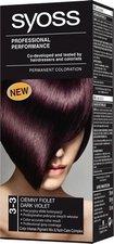 Syoss Color Baseline 3 - 3 Tmavě fialový barva na vlasy