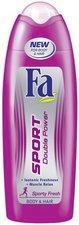 Fa Sport Double Power Sporty Fresh SG 250 ml dámský sprchový gel na tělo a vlasy