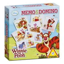 Piatnik Pexeso&Domino - Medvídek Pú Walt Disney