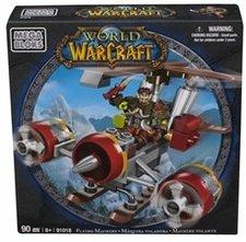 WOW - Alliance Gnome Rogue na létajícím stroji