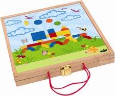 Woody - Magnetický kreativní kufřík s tvary