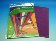 Vlnitý papír - fialový