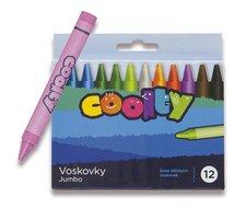 Voskovky Coolty Jumbo - 12 barev
