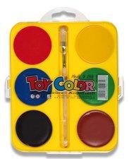 Vodové barvy Maxi, O 57 mm, 6 barev