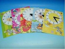 Dětské papírové hodiny