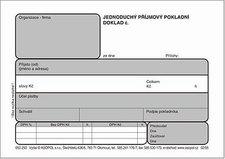 Jednoduchý příjmový pokladní doklad s DPH - JPD 1+1