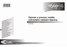 R-Záznam o provozu nákladní dopravy - puťovka
