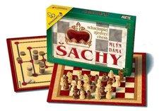 Společenská hra Šachy,Dáma,Mlýn