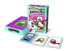 DIDACO  vzdělávací karty  Barvy - HELLO KITTY