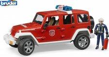 Bruder 2528 Jeep Wrangler požární s figurkou