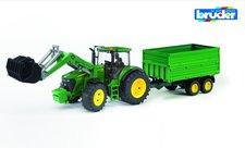 Traktor JOHN DEERE 7930 + vůz Bruder 03055