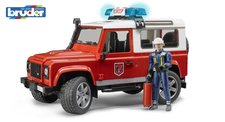 Bruder 2596 Land Rover hasi�i s figurkou hasi�e
