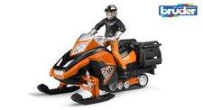Bruder 63101 Sněžný skůtr s řidičem
