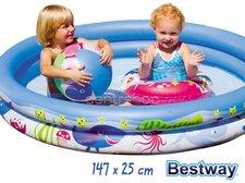 BESTWAY 51120 mořský život set 147x25 cm