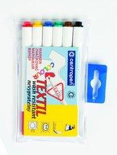 Značkovač na textil Centropen 2739 sada 6 kusů, mix barev, průměr hrotu 3,5 mm