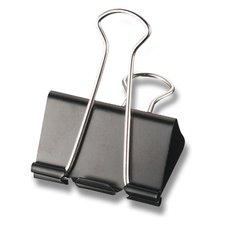 Vázací klipy černé MAPED, 24 mm, 12 ks