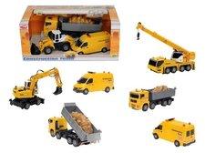 Set stavební auta 3 ks